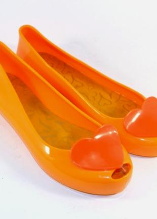 Яркие силиконовые балетки 6015-5с