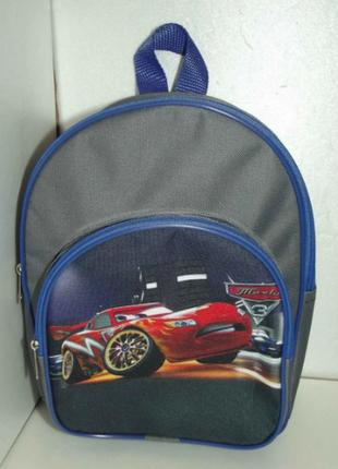 Рюкзак для мальчика тачки. 2 цвета