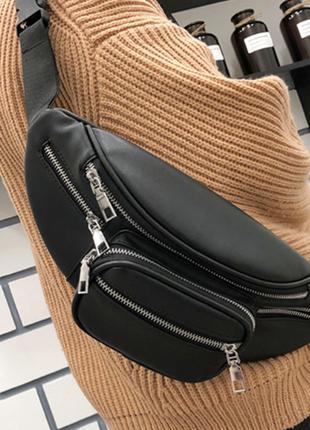 Мужская сумка на пояс , плечо