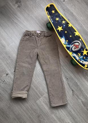 Классные зимние вельветовые брючки штанишки. размер на 3-4 год...