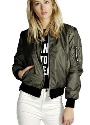 Женская куртка бомбер 6515ал
