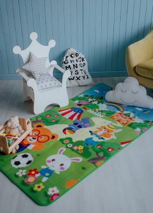 Детский  коврик для игр зверята 1.0 х1.8
