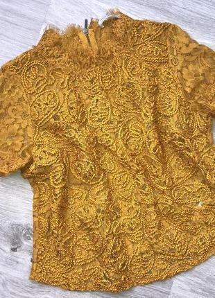Очень красивая блуза топ кофта. блуза гипюр кружево. шикарный ...