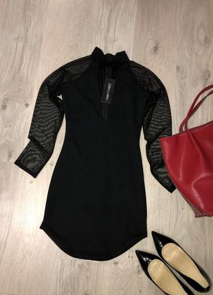 Очень стильное платье, вечернее платье. маленькое черное плать...