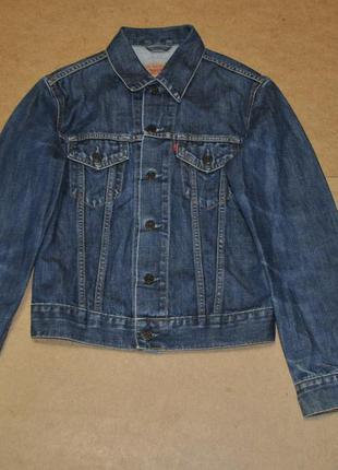 Levis женская куртка джинсовая