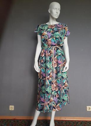 Платье из штапеля season цветное