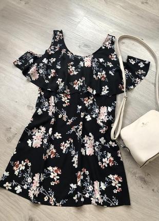 Красивое летнее платье свободного кроя, платье с цветами, сарафан