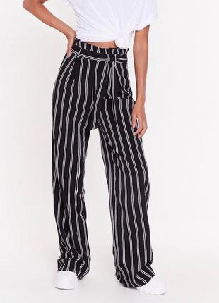H&m брюки палаццо с высокой посадкой
