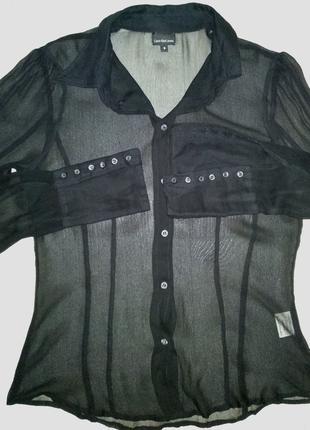 Блуза рубашка calvin klein silk шелк блуза женская