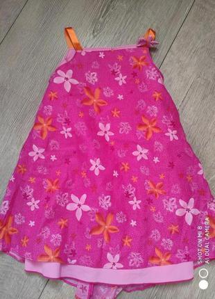 Модный сарафан платье хлопок