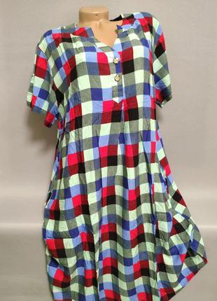 Женская рубашка/платье больших размеров