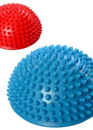 Полусфера массажная балансировочная (Balance Kit, киндербол ежик