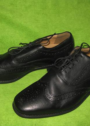 Туфли soleflex,р.44-45 стелька 30см кожа
