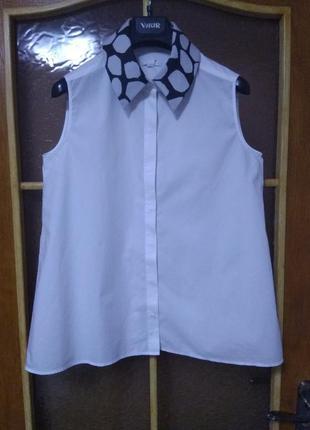 Белоснежная летняя блуза cos