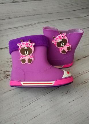 Резиновые сапоги для девочек class shoes 30