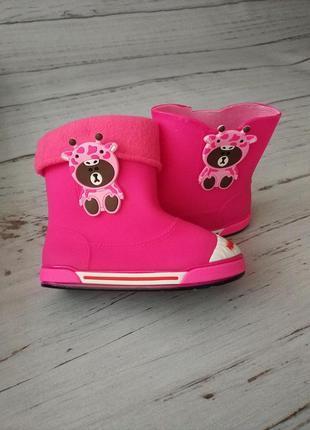 Резиновые сапоги для девочек class shoes 29,30