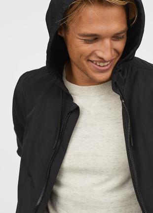 Куртка ветровка h&m с капюшоном !