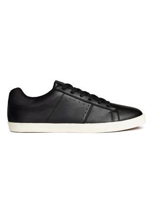 Кожаные кроссовки h&m !