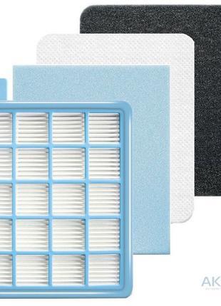 Комплект хепа фильтров для пылесоса Philips FC8474 FC8471 hepa...