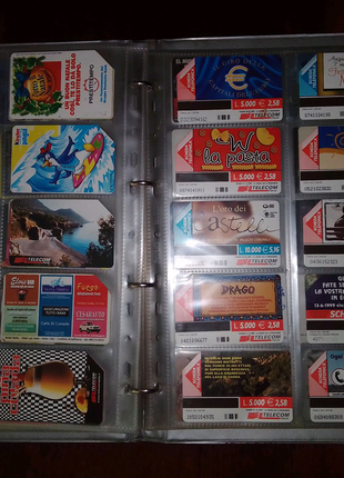 Коллекция телефонных карточек