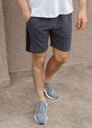 Серые мужские шорты