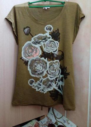 Didi нидерланды стильная оригинальная футболка /туника принт ц...