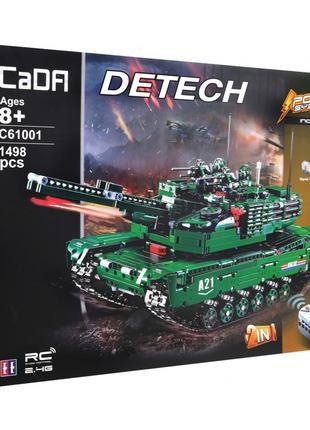 Конструктор CaDa C61001W Double E Танк M1A2/бронемашина