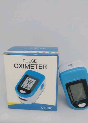 Портативный пульсометр оксиметр на палец