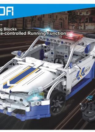 Конструктор CaDa Полицейский автомобиль C51006W на радиоуправлени