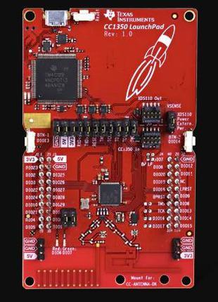 Отладочная плата Texas Instrument CC1350 LaunchPad EU
