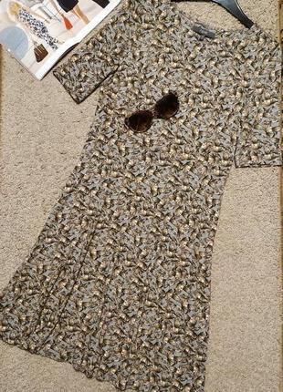 Next платье принт бабочки