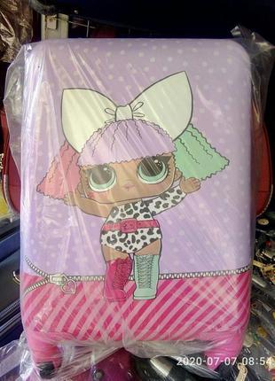 Детский чемодан пластиковый маленький для ручной клади/валіза ...