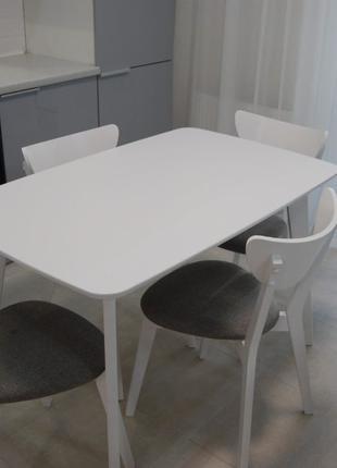 Стол (белый) в стиле Лофт