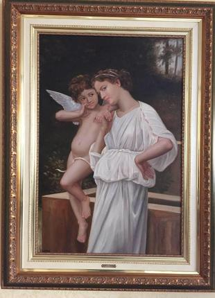 Картина в рамке, маслом «Angel»