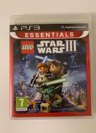 Б/У Lego Star Wars 3 essentials PS3