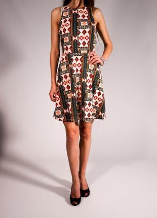 H&m платье летнее  абстрактный принт