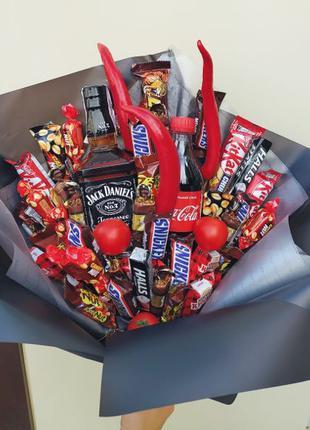 Букет из конфет,мужской букет