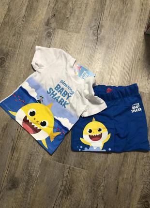 Костюм на мальчика / пижама / пляжный набор/ шорты и футболка/...