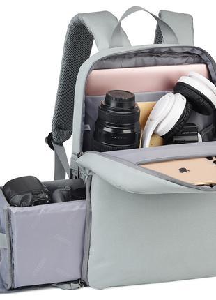 Фоторюкзак сумка портфель для фотоаппарата фото рюкзак