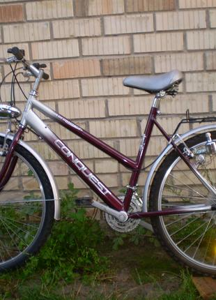 Велосипед з Німетчини на зріст 155-180см колеса 26 -28д 18передач
