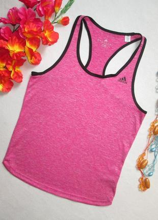 Фирменная спортивная майка борцовка розовый меланж adidas ориг...