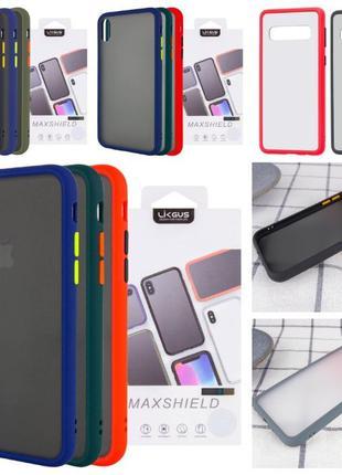 Чехол для iPhone SE 2020 7 8 plus X XS 11 Pro Max Samsung Gala...