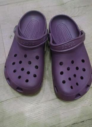 Оригинальные кроксы crocs размера m7-w9