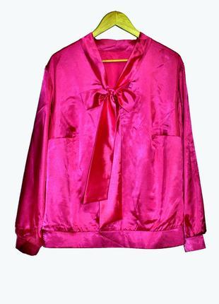 """Шикарная блузка цвета """"фуксии"""""""