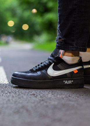 "Nike Air Force x Off White ""Black"""