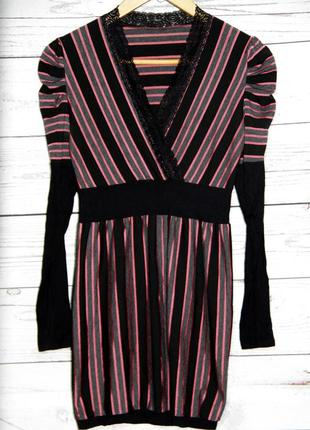 Платье-туника в полоску