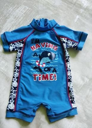 Купальные костюмы для мальчика 6-9 мес
