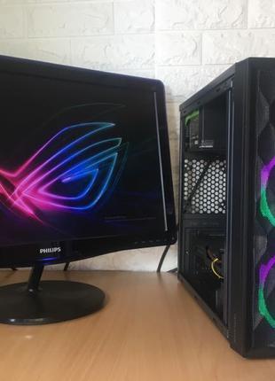 Компьютер, игровой пк, Intel® Core™ i5-3470, GTX 1050Ti, SSD