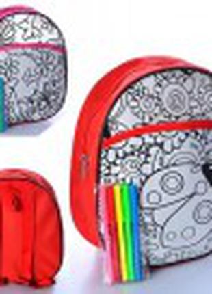 Дитяча сумка-розмальовка
