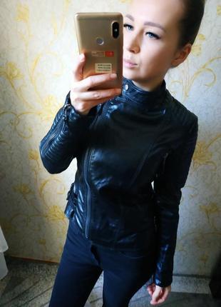 Шикарная куртка косуха от twtf basic под zara
